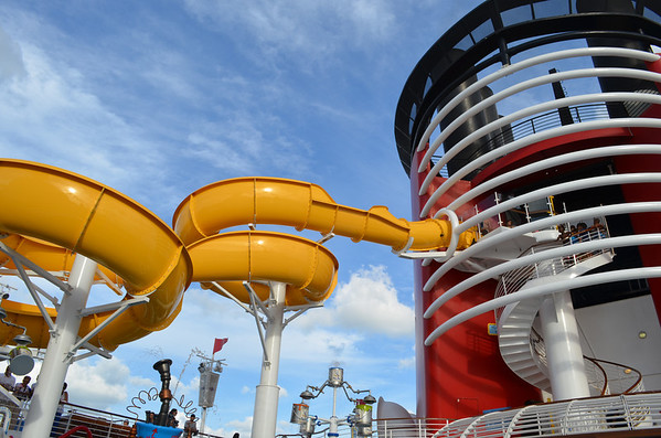 Twist 'n' Spout on Disney Magic Cruise Ship
